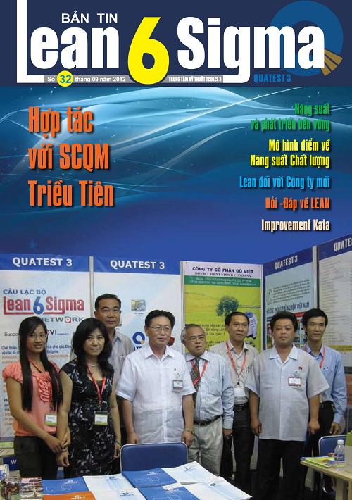 Bản tin Lean 6 sigma - số 32