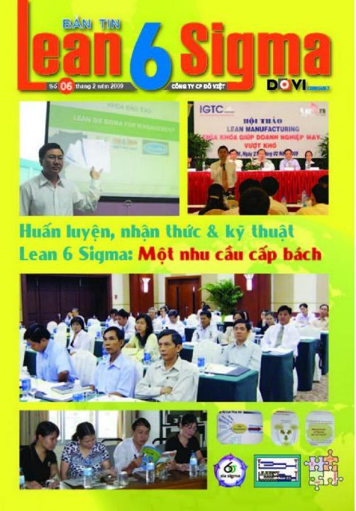 Bản tin Lean 6 sigma - số 6