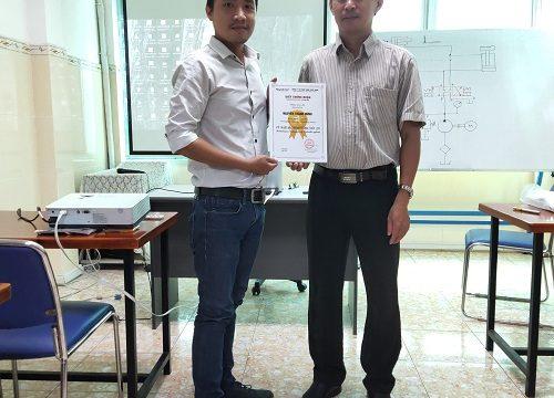 Khóa học Thủy lực - Tổng kết ngày 03/07/2020 - Học viên công ty Kim Nghĩa