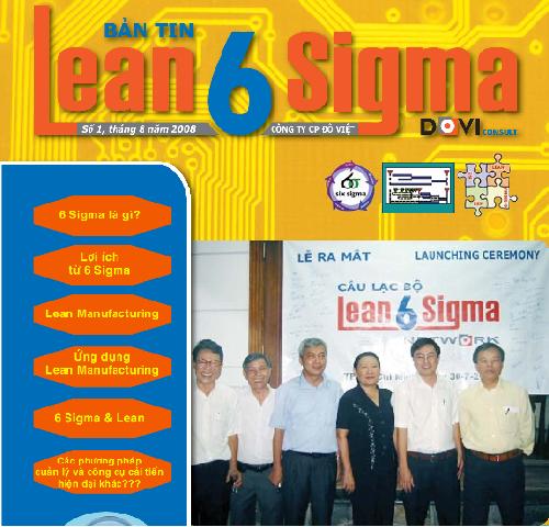 Bản tin Lean 6 sigma - số 1