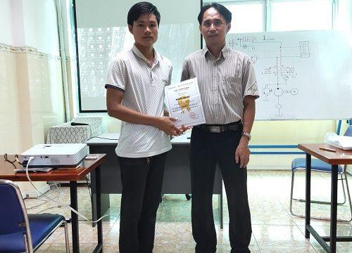 Khóa học Thủy lực - Tổng kết ngày 03/07/2020 - Học viên Công ty TNHH Vi Lữ